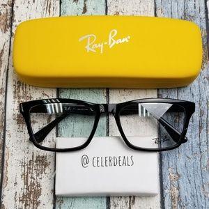 RB5279 2000 Ray Ban Men's Black Eyeglasses/VII655
